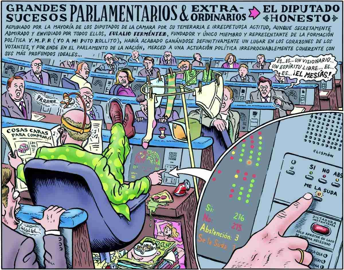 El diputado honesto, por Miguel Brieva