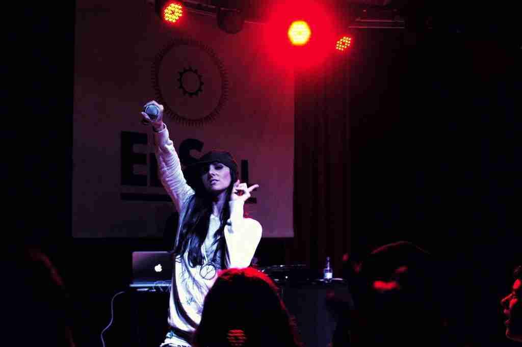 Mala Rodríguez. Foto de TonoCano/SecretOlivo
