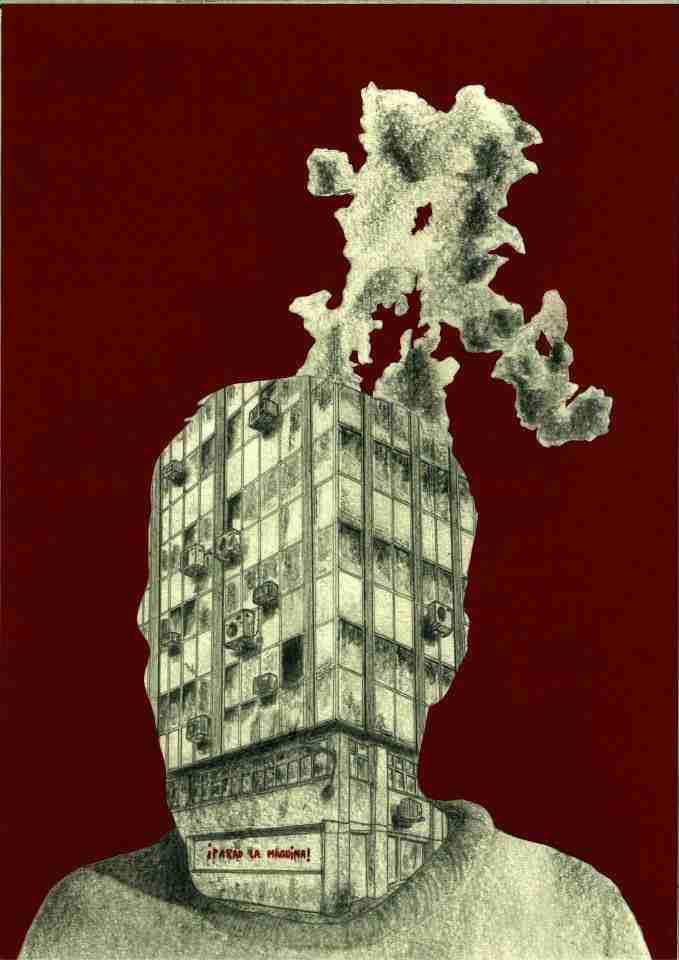 ¡Parad la máquina! Ilustración de El Guardabosques.