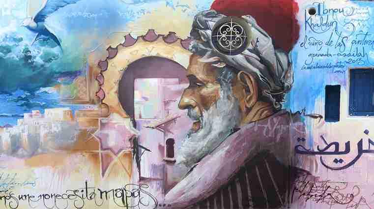 Ibn Khaldun ( Abenjaldún) por El Niño de las Pinturas