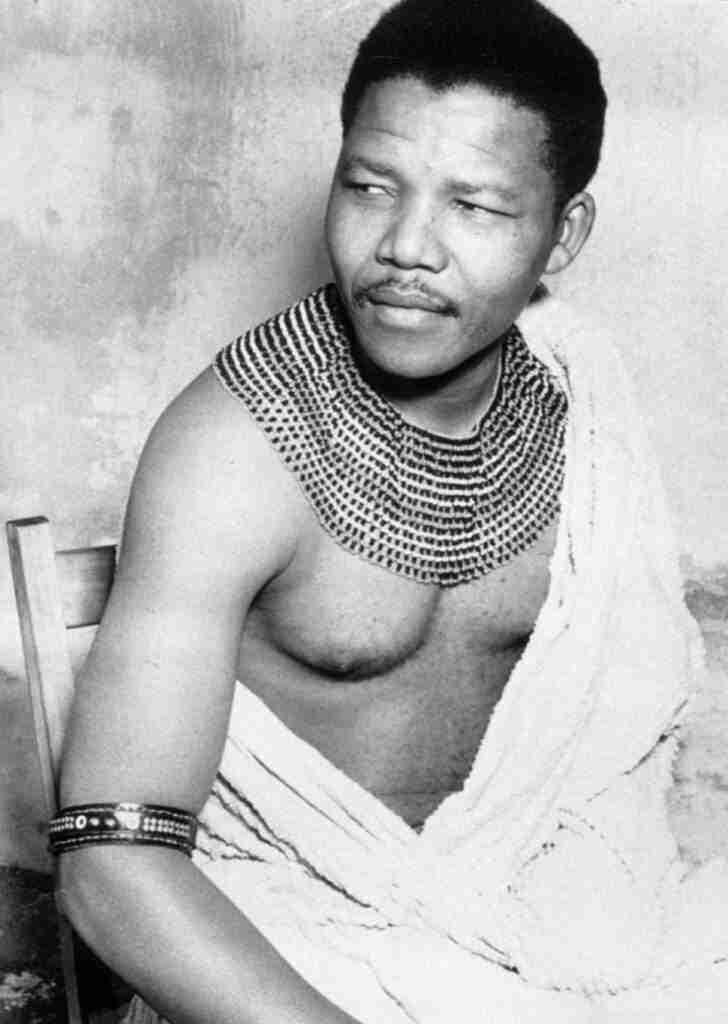 Nelson Mandela en 1961