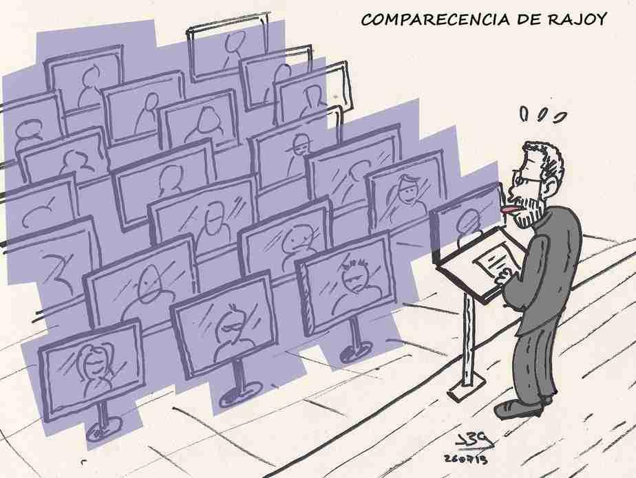 ¿Y si fuese así la próxima comparecencia de Rajoy? Por Javier Blanco