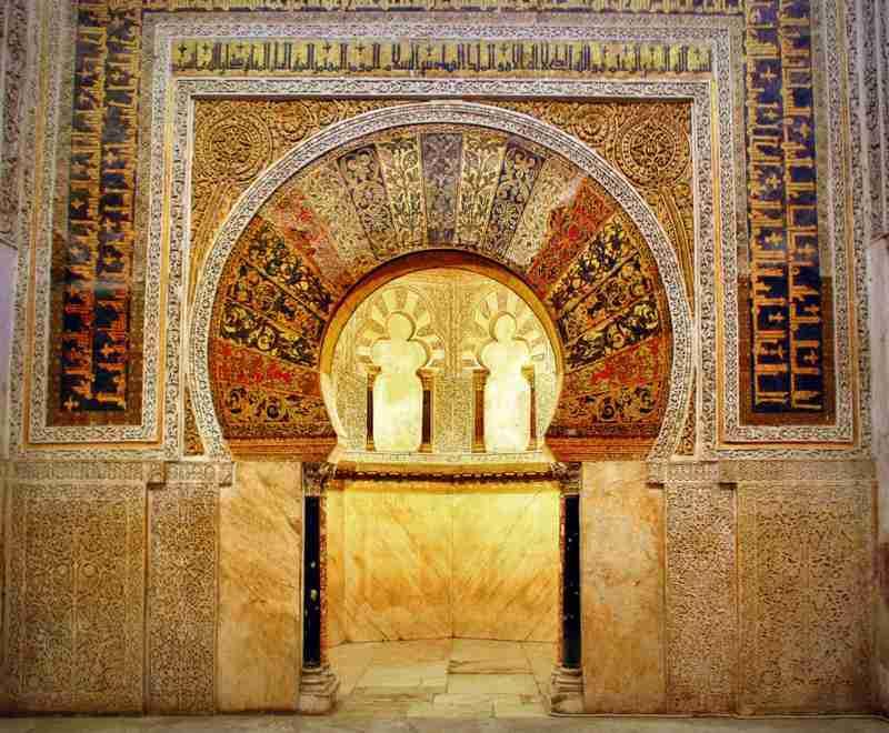 La Mezquita de Córdoba (mirhab) Foto de TonoCano/SecretOlivo