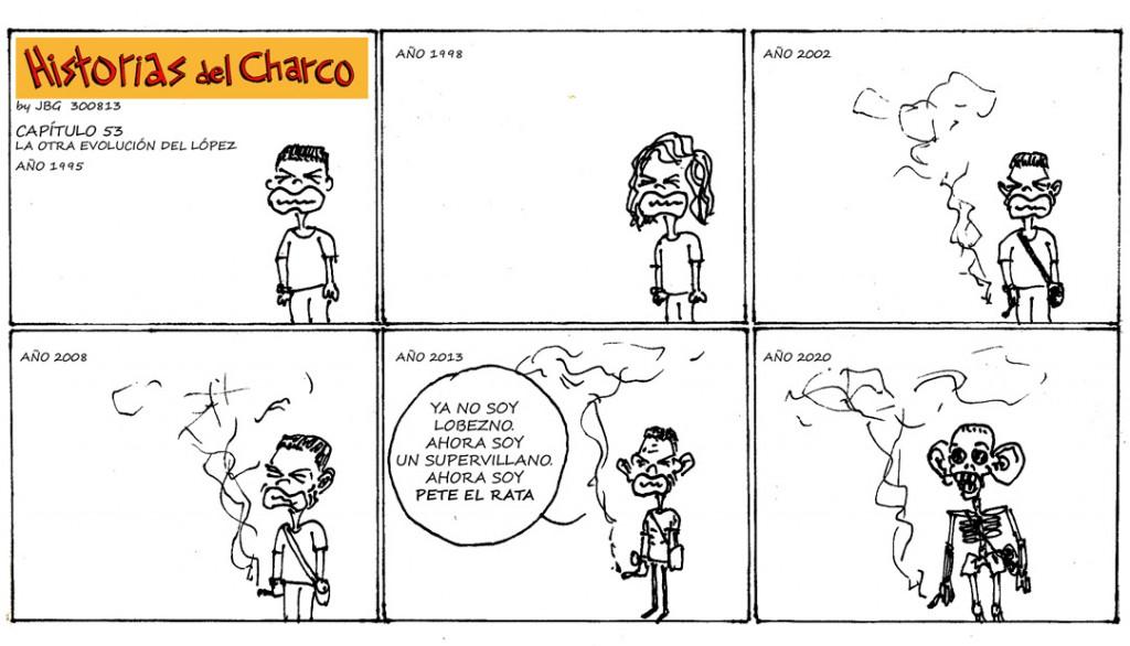 Historias del Charco, de Javier Blanco