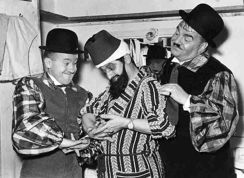 Emilio el Moro con El Gordo y el Flaco