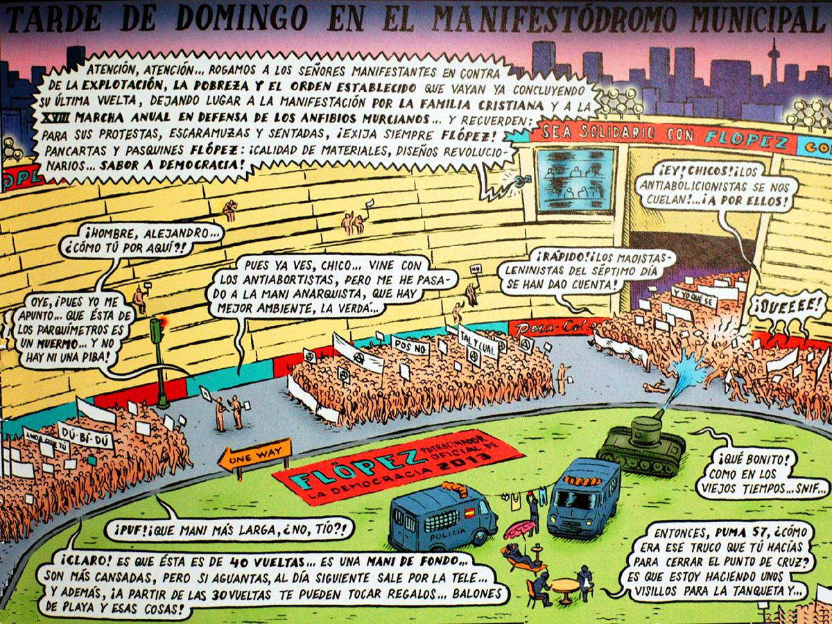 Manifestódromo municipal, por Miguel Brieva