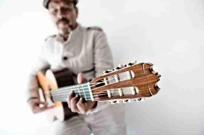 Javier Ruibal. Fotografía de Pepa Nieto