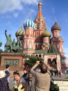 Moscú: El turista que nos hace sentir menos turistas. Foto de Wences Lamas y Jesús Llorente