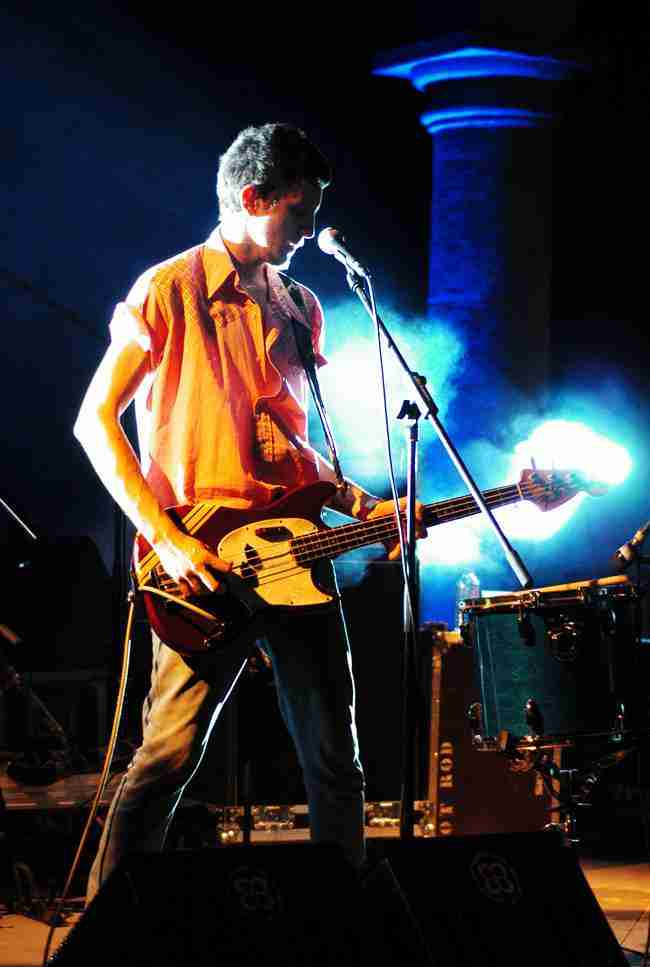 Pablo Peña, de Pony Bravo en directo. Foto de Tono Cano