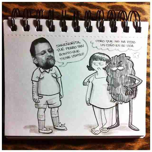 Mariano Rajoy meets coño, por Ana Belén Rivero