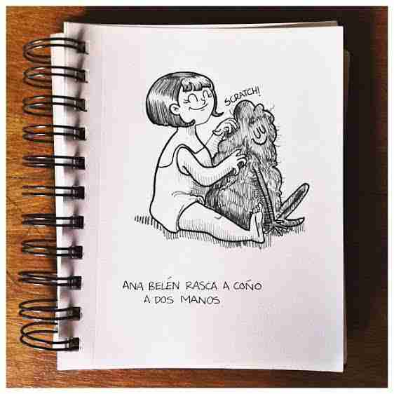 Ana Belén y coño