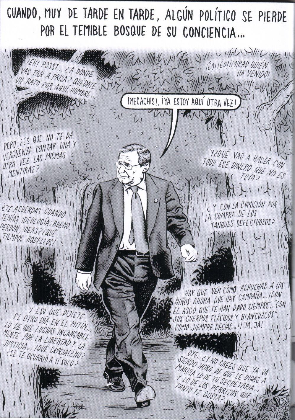 El bosque de la conciencia. Ilustración de Miguel Brieva