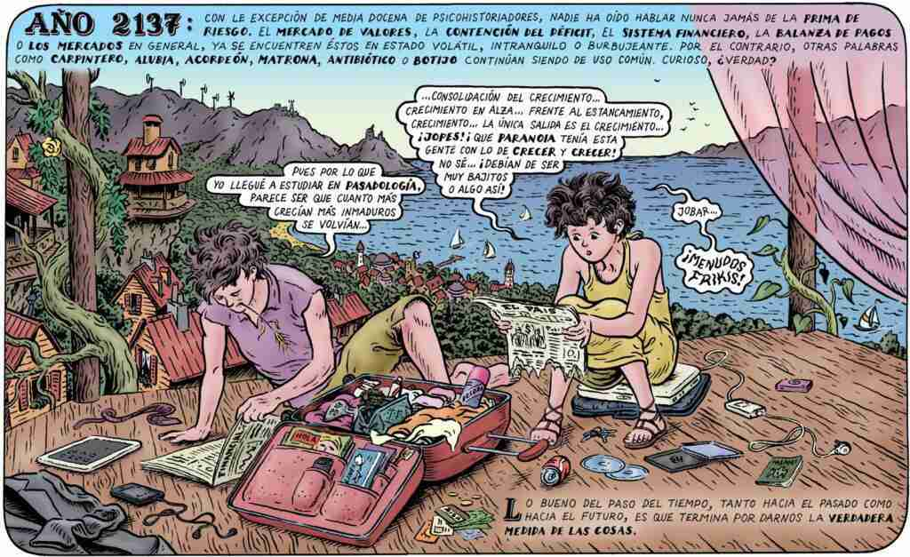 Año 2137. Ilustración por Miguel Brieva