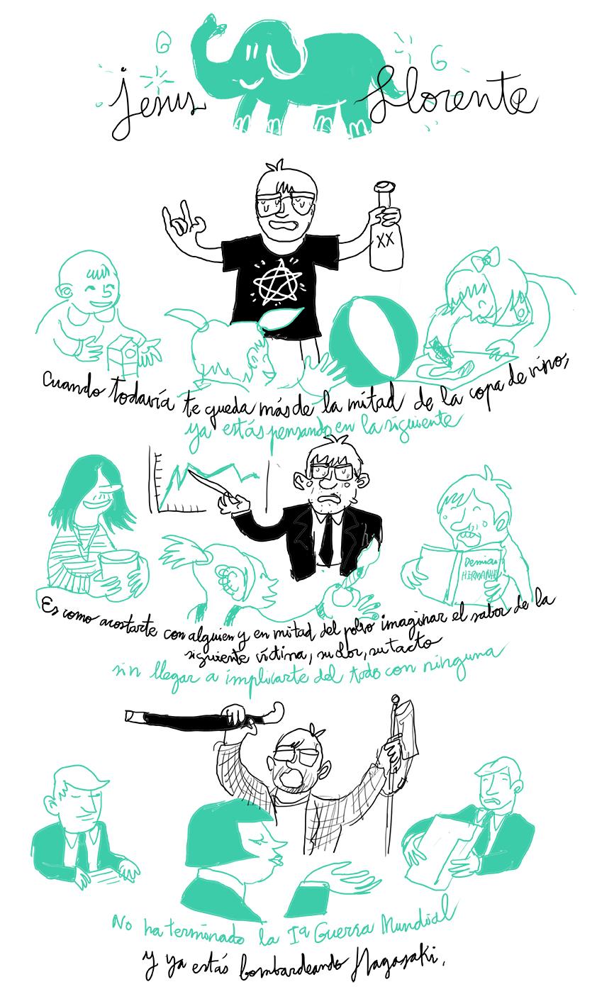 Autoayuda Ilustrada 24 Un cómic de Wences Lamas y Jesús Llorente para dejar de fumar y beber