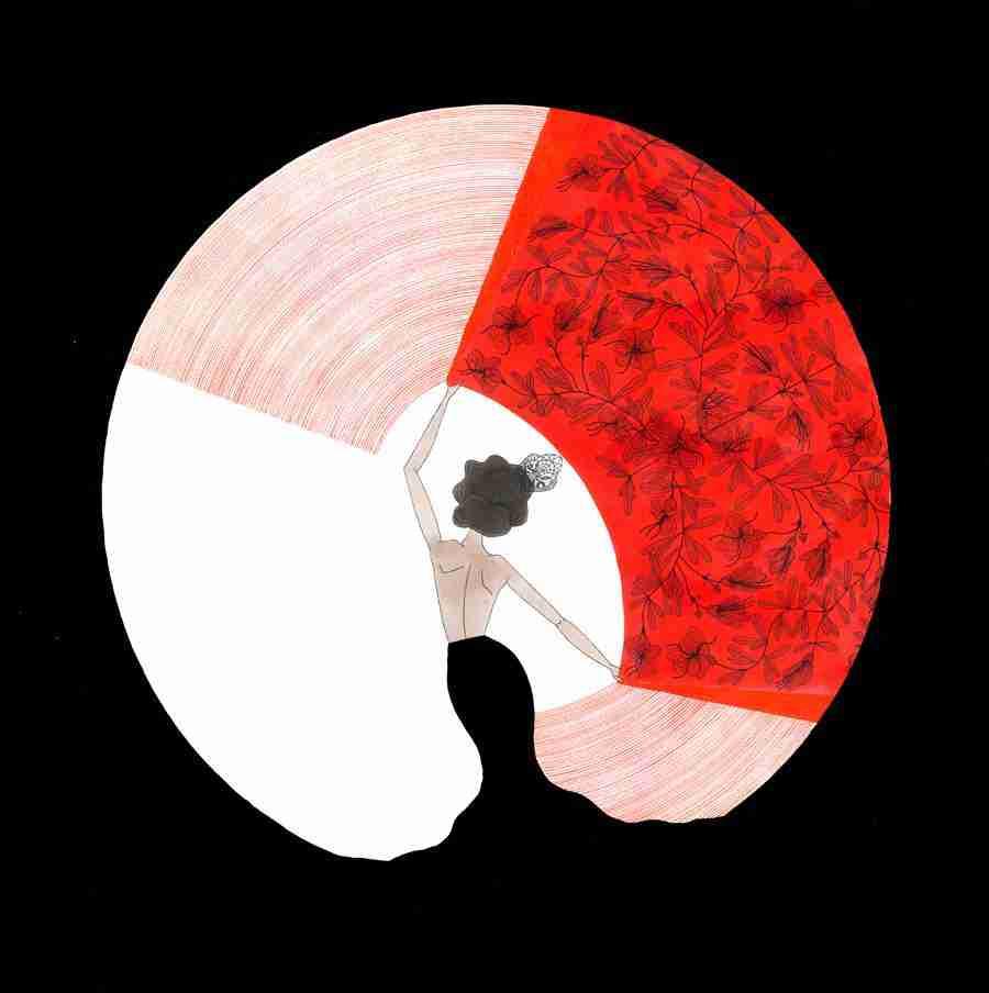 Copla ilustrada por Nuria Rubio