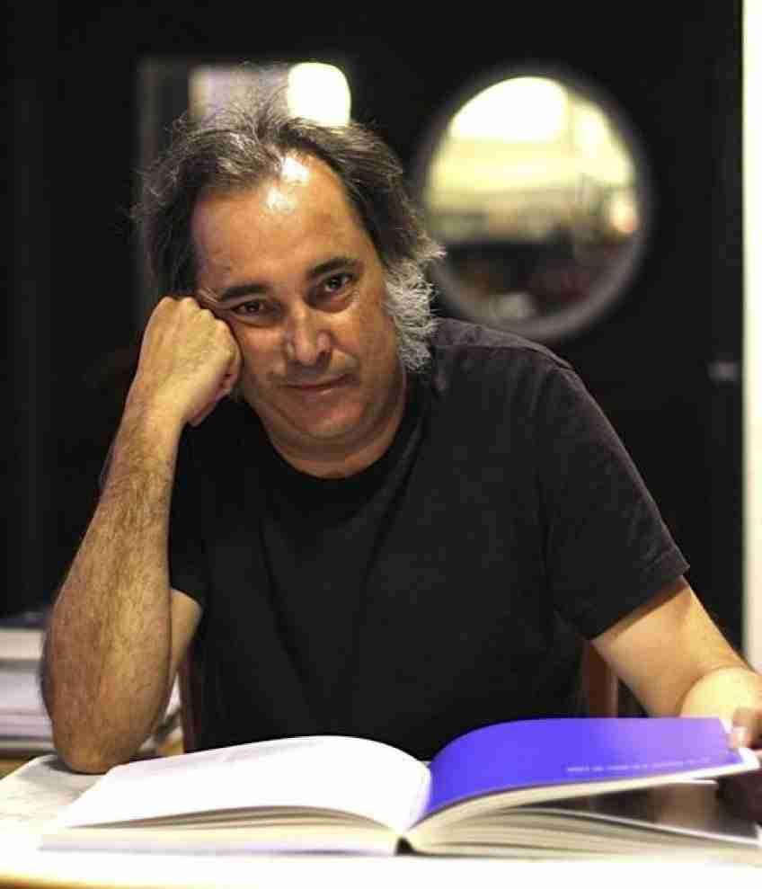 Elías Gorostiza. Foto de Ana Portnoy.