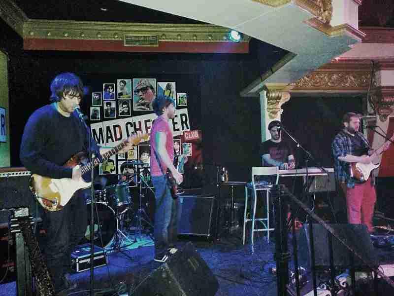 Checopolaco, en el Madchester Club de Almería, el 14 de marzo. Foto de MA Blanco