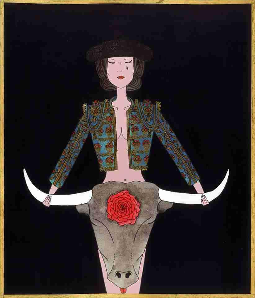 Francisco alegre, copla ilustrada por Oibur Selbor