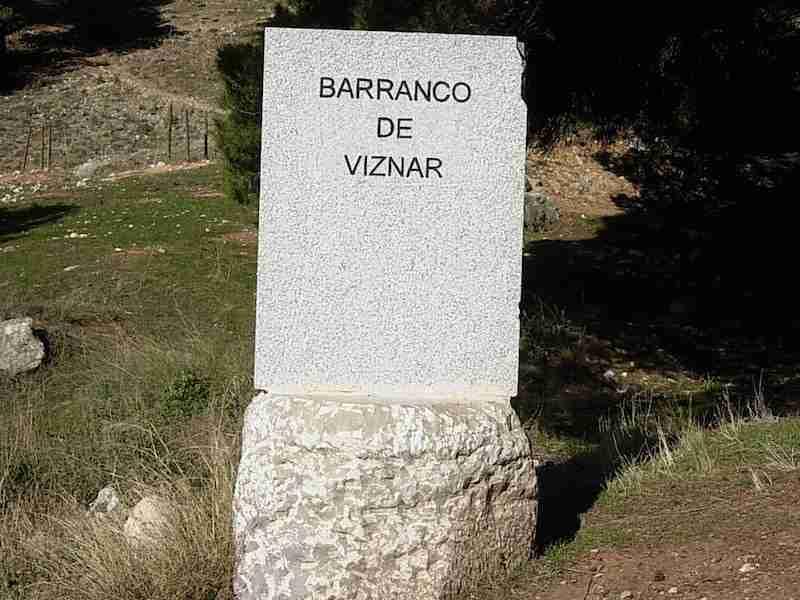 Barranco de Víznar (Granada), donde se calcula que  yacen más de 2.000 fusilados.