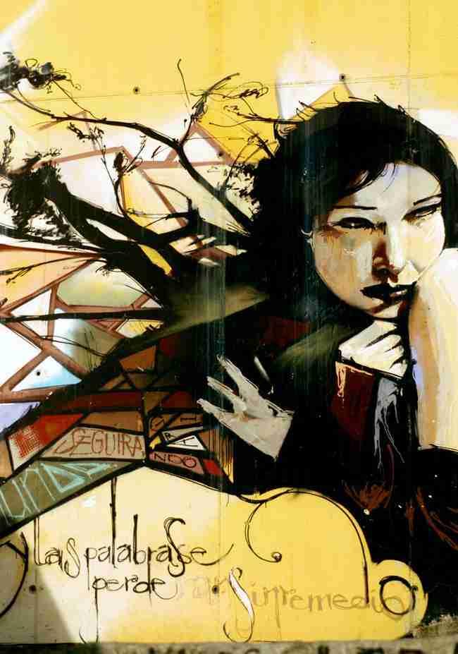 y las palabras se perderán sin remedio El niño de las pinturas