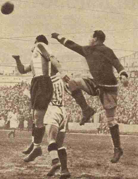 Betis vs Español (enero de 1935) No al fútbol moderno