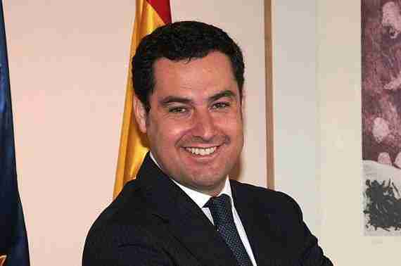 Juan Manuel Moreno Bonilla. Foto de Ángel Alonso
