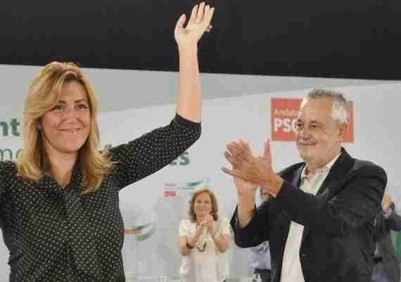 Griñan y Susana Díaz