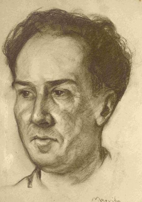 Antonio Machado por Frederic Masriera Vila (1926)