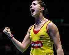 Carolina Marín, campeona de Europa y del mundo en bádminton